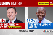 Error of greater concern than fraud to Gillum watching re-counts