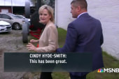 Hyde-Smith flees media asking questions about racial controversy