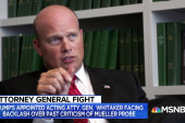 Several House Dems urging Whitaker to recuse himself from Mueller probe