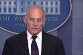 Chief of Staff John Kelly may soon depart White House