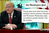 Trump lashes out as his lawyers prep answers for Mueller