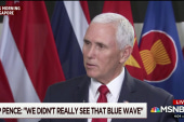 VP Pence: 'We didn't really see that blue wave'