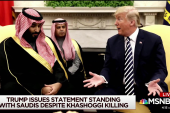 How will GOP leadership react to Trump's Saudi statement?
