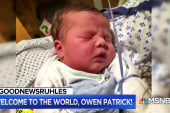 #GoodNewsRUHLES: Welcome to the world, Baby O'Neill!