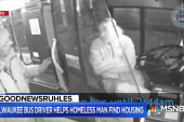 #GoodNewsRUHLES: Bus driver helps homeless man find housing