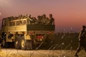 Troops remain at southern U.S. border as Trump zeroes in on caravan