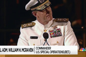 In attacking Adm. McRaven Trump proves, again, nothing is sacred for him