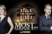 Brian Williams and Nicolle Wallace look back on 2018