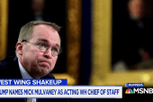 "What's with the ""acting"" before Mulvaney's new Chief of Staff title?"