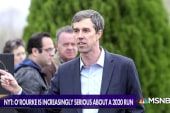 2020 presidential race: Comey won't run, O'Rourke increasingly serious