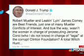 Trump goes after Mueller probe in Friday tweets
