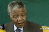 Tom Brokaw remembers covering Mandela's release from prison