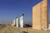 Trump deals on building wall that he says is already doing its job