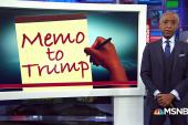 #MemoToTrump: A Lesson on Temperament
