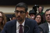Google CEO facing tough data and privacy questions on Capitol Hill