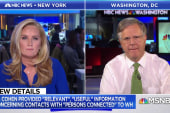 Is President Trump in peril? NBC's Pete Williams look at new court filings