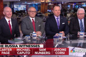Watch: Ari Melber's interview with 4 key Mueller witnesses