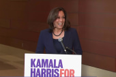 Andrea Mitchell asks Kamala Harris why she's best suited to beat Trump