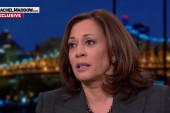 Harris: Trump 'out of nowhere,' 'irresponsible' on Afghanistan