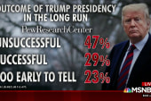 Trump's job approval slips amid shutdown