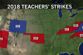Teacher strikes across the country met with warm receptions