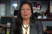 Native American congresswoman Rep Haaland: This could be a teaching moment