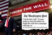 WaPo: Trump wants to make 'Finish The Wall' a rally cry for 2020