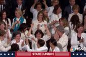 Democratic women steal a moment amid Trump's SOTU jobs rhetoric