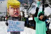 Trump's dubious emergency declaration sparks nationwide protests