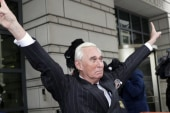 Joe: Are you really cool with Roger Stone's crosshair picture?