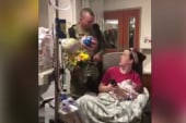 #GoodNewsRUHLES: Army Sgt. surprises wife who just delivered twins