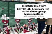 """Chicago Sun-Times: Mass shootings are """"real national emergency"""""""