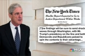 Mueller might be wrapping up soon… how does Trump feel?