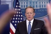 Who fed lies to Sean Spicer about Flynn's resignation?