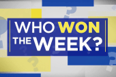 Who won the week? Why Joy says Warren's the week's biggest winner
