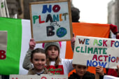 Heirs to abused climate skip school for worldwide protest