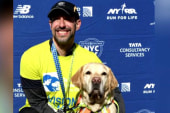 #GoodNewsRUHLES: Blind man and dogs make history, finish half marathon
