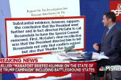 Mueller report: President Trump tried to get Mueller removed