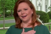 Surprise! Kelly O'Donnell stunned by colleagues, sources to celebrate 25 years at NBC