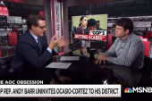 Uninvited: GOP Rep. flip-flips on Ocasio-Cortez