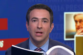 Melber: Mueller report details 'potential hanging of a thread of the Trump presidency'