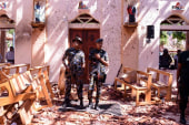 Hundreds dead in 8 coordinated Easter Sunday bombings in Sri Lanka