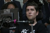 Activist with ALS makes powerful case for healthcare reform