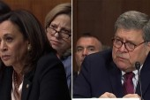 WATCH: Sen. Harris, showing off prosecutorial prowess, puts AG Barr on his heels