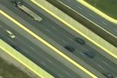 Cops in hot pursuit of stolen tractor trailer