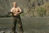 Vladimir Putin: master of the manly photo op