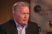Why Martin Sheen is passionate about veterans