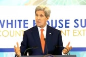 Secy. Kerry at White House Summit