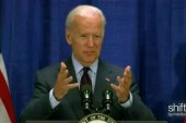 Biden on rape-kit backlog