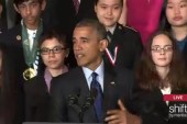 Pres. Obama hosts WH Science Fair